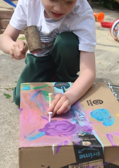 Outdoor Activities for Kids that Strengthen Hands!