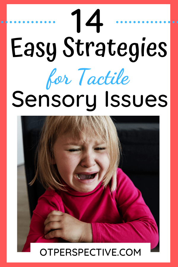Living with tactile sensory issues is really challenging! Learn how to help you and your child deal with them better. Checkout these 14 easy strategies… #sensorytactile #sensorytactileactivities #sensorytactileactivity #sensorytactileideas