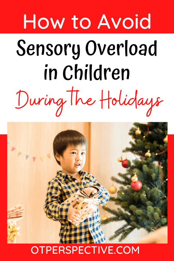 6 tips to Prevent Sensory Overload in Children and make Your Holidays filled with laughter! Learn what it can look like and how to manage it. #Sensoryoverloadinchildren #sensoryoverloadinkids #sensoryoverloadsymptoms #autismholidaytips #sensory #howtosurvivetheholidays #survivingtheholidays #tipsforsurvivingtheholidays