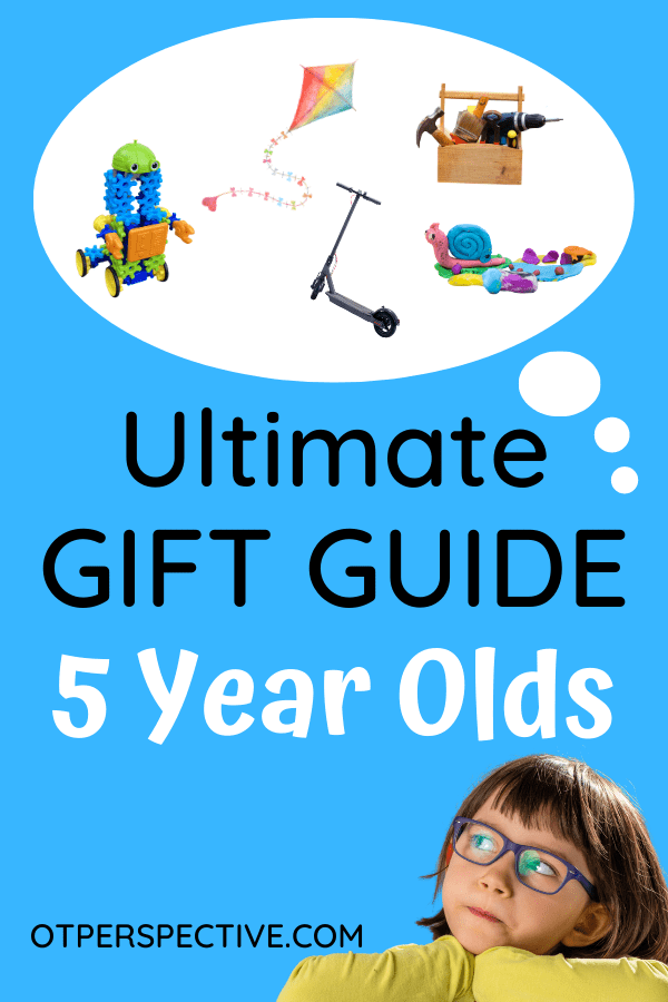 Get this developmental GIFT GUIDE for toys that your 5 yr old is going to love that are kid, Occupational Therapist, and mom approved! #developmentalgiftguide #giftguideforkids #christmasgiftguide #holidaygiftguideforkids #amazongiftguideforkids #ultimategiftguideforkids #birthdaygiftguide #giftideas